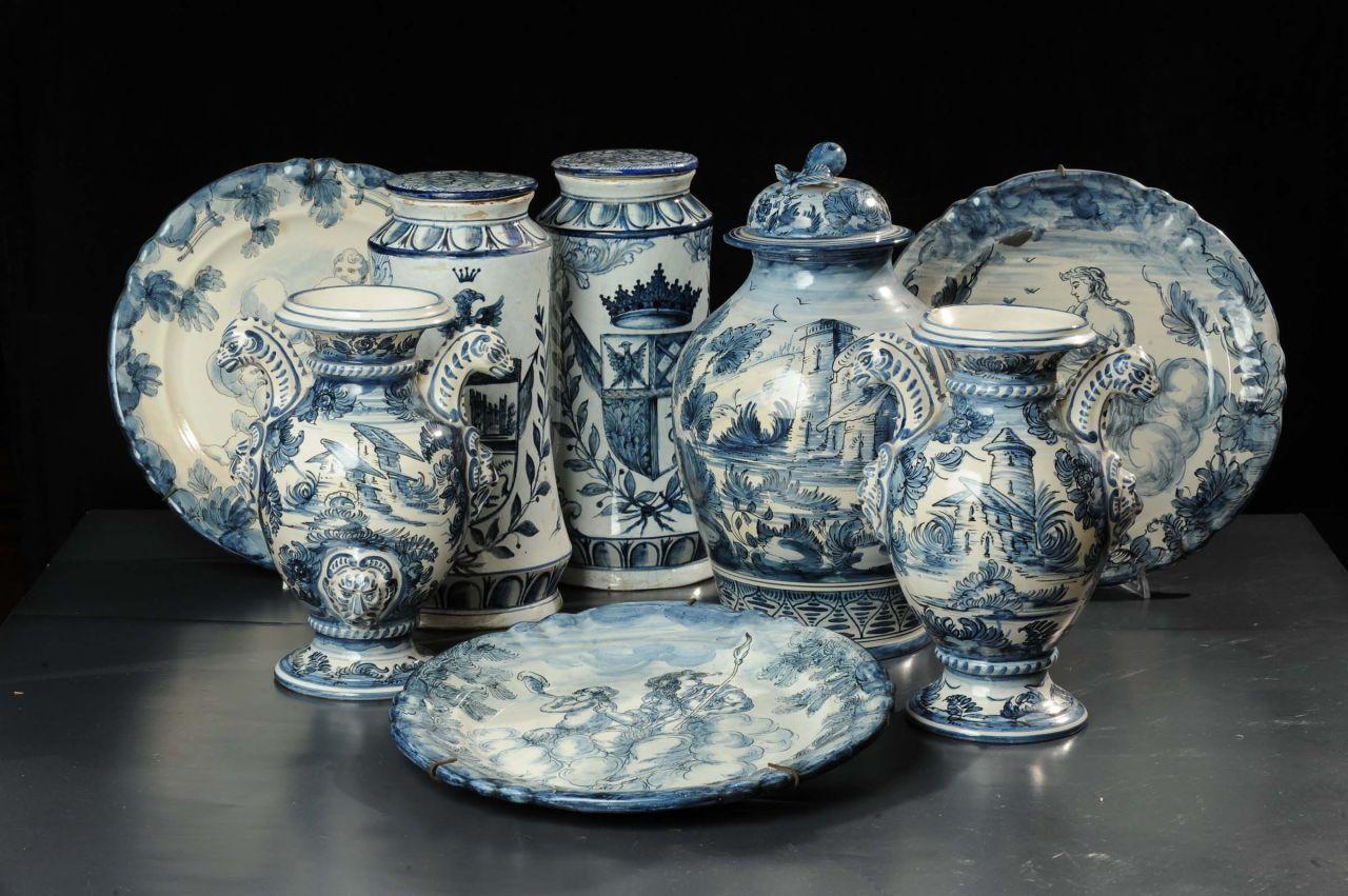 Arte Ceramica Savonese, diffusa in tutto il territorio. Albisola spicca per creatività