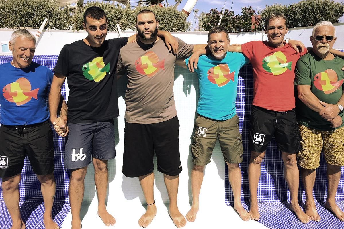 Bagnini del Lido Beach&Life Resort: Maurizio, Fabio, Andy, Giovanni, Alessandro, Mino.
