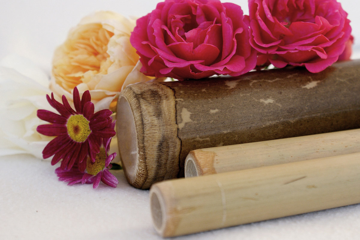 Lido Beach&Life Resort: Bamboo Massage in Spa
